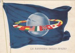 8483-1° MOSTRA POPOLARE DELLO SPAZIO-LA BANDIERA DELLO SPAZIO-ILLUSTRATORE ARIANO-FG - Manifestations