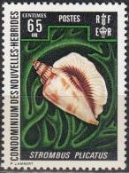 Nouvelles Hebrides 1972 Michel 342 Neuf ** Cote (2005) 3.00 Euro Coquillage - Légende Française