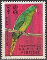 Nouvelles Hebrides 1972 Michel 344 Neuf ** Cote (2005) 10.00 Euro Lori Des Palmiers - Légende Française