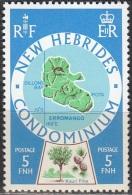 Nouvelles Hebrides 1977 Michel 473 Neuf ** Cote (2005) 0.50 Euro Ile Erromango - Légende Anglaise