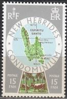 Nouvelles Hebrides 1977 Michel 475 Neuf ** Cote (2005) 0.60 Euro Ile Espiritu Santo - Légende Anglaise