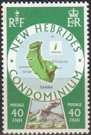 Nouvelles Hebrides 1977 Michel 480 Neuf ** Cote (2005) 1.70 Euro Iles Tanna & Awina - Légende Anglaise