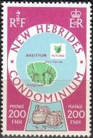 Nouvelles Hebrides 1977 Michel 484 Neuf ** Cote (2005) 9.50 Euro Ile Anatom - Légende Anglaise