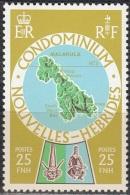 Nouvelles Hebrides 1977 Michel 490 Neuf ** Cote (2005) 0.90 Euro Ile Malakula - Légende Française