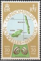 Nouvelles Hebrides 1977 Michel 491 Neuf ** Cote (2005) 1.10 Euro Iles Maewo & Aoba - Légende Française