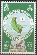 Nouvelles Hebrides 1977 Michel 493 Neuf ** Cote (2005) 1.50 Euro Iles Tanna & Awina - Légende Française