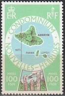 Nouvelles Hebrides 1977 Michel 496 Neuf ** Cote (2005) 3.80 Euro Ile Ambrym - Légende Française