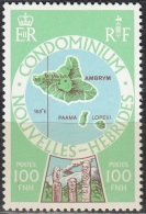 Nouvelles Hebrides 1977 Michel 496 Neuf ** Cote (2005) 3.80 Euro Ile Ambrym - Französische Legende