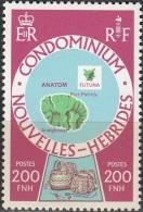 Nouvelles Hebrides 1977 Michel 497 Neuf ** Cote (2005) 7.50 Euro Ile Anatom - Légende Française