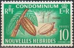 Nouvelles Hebrides 1965 Michel 216 Neuf ** Cote (2005) 1.30 Euro Arbre De Cacao - Légende Française