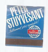 G-I-E, Tabac, Boites, Pochette D'ALLUMETTES,  Publicité  , Cigarettes PETER STUYVESANT... Tellement , Plus Agréable - Matchbox Labels