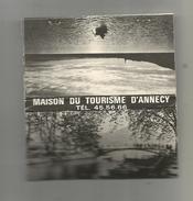 G-I-E, Tabac, MAXI Pochette D'ALLUMETTES, Publicité,  9 X 5 , 2 Scans ,maison Du Tourisme D'ANNECY - Matchbox Labels