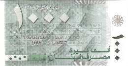 LIBAN   1000 Livres   2004 (2006)   P. 84a   UNC - Liban