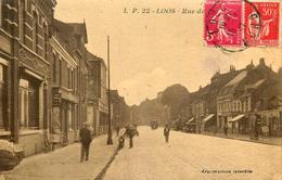 Loos - Rue Du Maréchal Foch - Belle Animation - Loos Les Lille