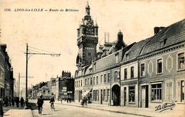 Loos Lez Lille - Route De Béthune - Belle Animation - Loos Les Lille