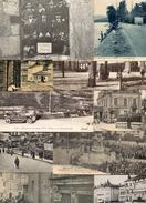 LOT DE 10 CARTES FRANCAISES TOUTES ANIMEES - Ansichtskarten