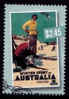 Australia 2007 Nostalgic Tourism $2.45 Winter Sport Used - - - Gebraucht