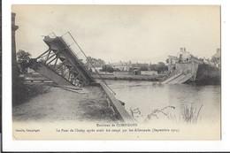 16512 - Environs De Compiègne Le Pont De Choisy Après Avoir été Coupé Par Les Allemands 1914 - Weltkrieg 1914-18