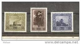 LieMi.Nr.326-28** 1954 Neuer Wert Auf Gemäldemarken - Liechtenstein