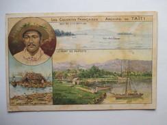 TAHITI  -  PAPEETE  -   LE PORT    TTB - Polynésie Française