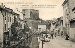 CPA - BACCARAT (54) - Aspect Du Quartier Du Canal Des Moulins Et De La Tour Des Voués Au Début Du Siècle - Baccarat