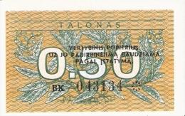 LITUANIE   0,50 Talonas   1991   P. 31b   UNC - Lithuania
