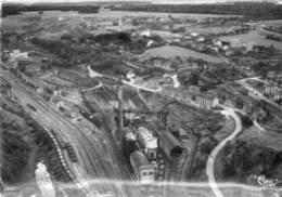 CPSM Dentelée - HUSSIGNY (54) - Vue Aérienne Au-dessus Des Hauts Fourneaux Jean Raty Et Cie Dans Les Années 50 / 60 - France