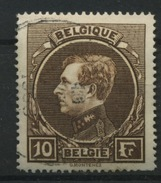 289 Ø  10F Roi Albert De Belgique  Type Montenez Gravé  Coté  5 Euros - 1929-1941 Grand Montenez