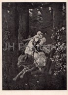 Painting By V. Vasnetsov - Ivan Tsarevich On The Gray Wolf , 1889 - Russian Art - 1946 - Russia USSR - Unused - Schilderijen