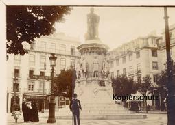 Foto Lissabon, Denkmal Des Dichters Luiz De Camreno - Lisboa