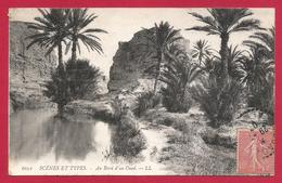 CPA Maghreb - Scènes Et Types - Au Bord D'un Oued - Algeria