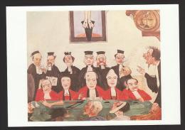 Reproduction Tableau James ENSOR Les Bons Juges 1891 De Goede Rechters Huile Sur Panneau Olieverf Op Paneel - Peintures & Tableaux