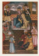 Painting By Unknown Painter - The Shakh On The Throne Surrounded By Poets - Iranian Art - 1984 - Russia USSR - Unused - Paintings