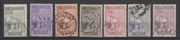 Belgique  N° 377 / 383 Oblitérés  ° - Used Stamps