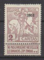 Belgique N° 94 Neuf Avec Legere Charnière * - 1910-1911 Caritas