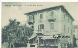 FK Tirano, Hotel Bernina Sui Piazzale Della Stazione - Italien