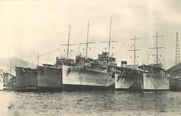 """CARTAGENA - Destroyers """"Sanchez Barcaiztegui"""" En Contruction. - Guerre"""