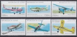 Guinée Republique - Guinea 1995 Yvert 1052-57, Airplanes - Aircrafts - MNH - Guinée (1958-...)