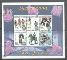 Guinée Republique - Guinea 2000 Yvert 1864AB-64AF, Sydney Summer Olympic Games  - MNH - Guinée (1958-...)