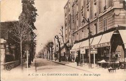 La Garenne Colombes - Ac 70 - Rue De L'aigle - Felix Potin (timbre Arraché) - La Garenne Colombes
