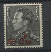 478 * * 2.50 Sur 2F45 Poortman Léopold III De   Belgique Coté 33 Euros - Neufs