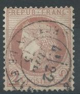 Lot N°36055  N°51, Oblit Cachet à Date De LILLE-SECTION-DE-FIVES (57), Ind 3 - 1871-1875 Ceres