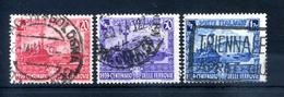 1939 REGNO SERIE COMPLETA USATA - 1900-44 Vittorio Emanuele III