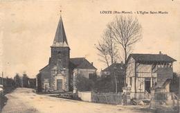 52-LOUZE- L'EGLISE SAINT MARTIN - Autres Communes