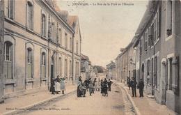 52-JOINVILLE- LA RUE DE LA PITIE ET L'HOSPICE - Joinville