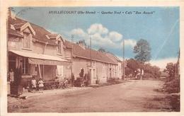 """52-HUILLIECOURT- QUARTIER NEUF, """" CAFE  BON ACCUEIL """" - Autres Communes"""