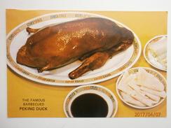 Postcard The Spring Deer Restaurant 42 Mody Road Kowloon Hong Kong China Barbecued Peking Duck  My Ref B2917 - China (Hong Kong)