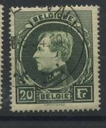 20F Ø  Montenez  Roi Albert De Belgique  Bon Ex. Oblitéré  Cote 25 Euros  Ø De 1934 - 1929-1941 Grand Montenez
