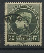 20F Ø  Montenez  Roi Albert De Belgique  Bon Ex. Oblitéré  Cote 25 Euros - 1929-1941 Grand Montenez