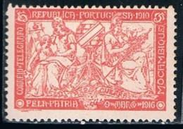 Moçambique, 1918, # 4, I.P.T., MH - Mozambique